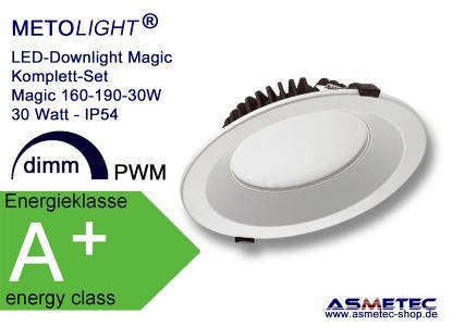 METOLIGHT LED-Downlight-Leuchte