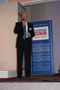 Klaus Donath bei der Begrüßung zur archITecture 2012