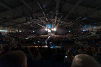 Voice-Acoustic sound system installed in the Sparkassen-Arena Jena in Germany