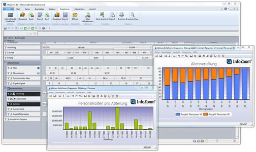 Screenshot of InfoZoom 8.0