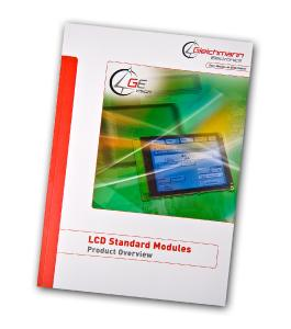 First edition of GE Vision catalog includes more than 120 customer specific modifiable standard LCD modules