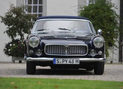 Maserati at it's best! 1959 Maserati 3500 GT Vignale Spyder, ©  Kuhnle