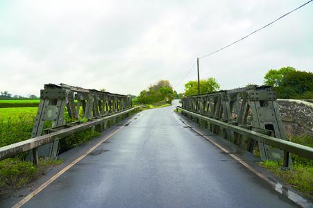 1942 wurde die feuerverzinkte Callender-Hamilton-Brücke in Lydlinch erbaut (Foto: Iqbal Johal)