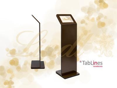 TabLines TBS Design Tabletständer für Lindt