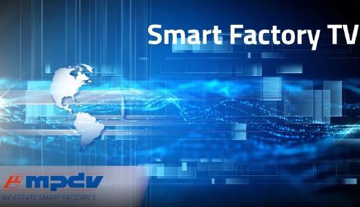 MPDV bietet mit dem neuen Smart Factory TV kurze News in 60 Sekunden zu innovativen Lösungen für die Fertigungs-IT/ Bild: MPDV