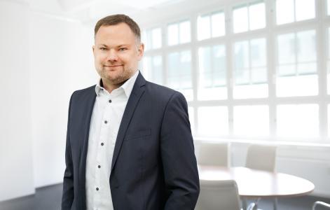 """Markus Becker, CEO von Quentic: """"Unseren Wachstumskurs setzen wir mit neuen internationalen Partnern und der Gründung weiterer Niederlassungen fort."""""""