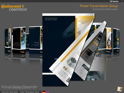 ContiTech Power Transmission Group brochures for the automotive aftermarket can also now be seen online. Photo: ContiTech