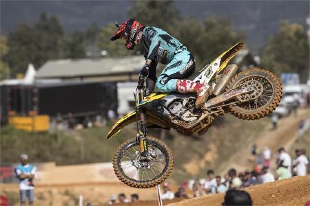 RM-Z450WS Rider Jasikonis Wins MXGP Of Portugal Qualifier