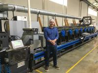 First Gallus label press for Elloflex in Brazil