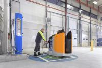 Schnell, einfach und sauber: In nur 3 Minuten ist die Brennstoffzelle befüllt und hat genügend Energie für eine durchschnittliche Betriebsdauer von bis zu 6-8 Stunden