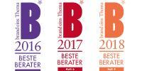 """Kloepfel Consulting zum dritten Mal in Folge als """"Bester Berater"""" ausgezeichnet"""