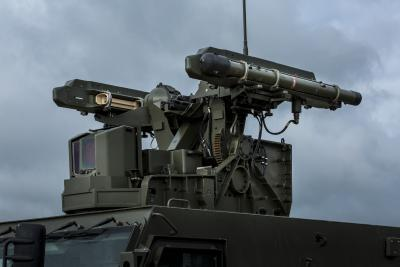 ILA 2016: Rheinmetall and MBDA Deutschland's new air defence system can fire on the move