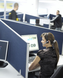 Erweiterte Unified-Communications-Funktionen für Contact Center