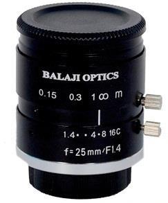 "C-Mount Machine Vision Lens - Balaji Optics-""Bo"""
