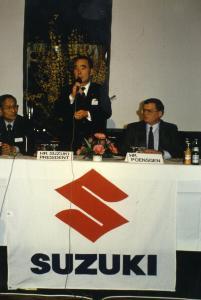 Suzuki trauert um Bert Poensgen