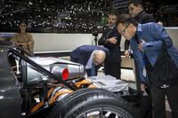 Techrules at Geneva 2016 - visitors geta closer look at TREV technology
