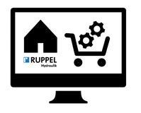 Schnelle Bestellung von Ersatzteilen: Der Ruppel Hydraulik Online-Shop / Bild: Ruppel Hydraulik