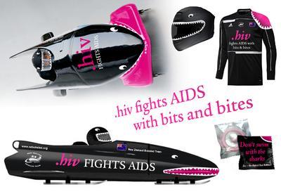 dotHIV wird exklusiver Charity-Partner des Neuseeländischen Bob-Teams auf dem Weg zu den Olympischen Winterspielen 2014