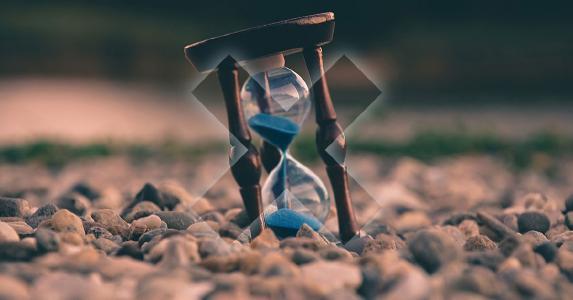 Sanduhr Symbolbild für Echtzeit-Strategie