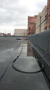 Bild 1: Dach mit Heizschleife