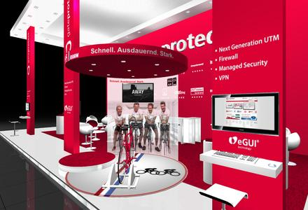 gateprotect Stand Aktion CeBIT 2013