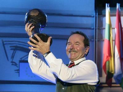 Klaus Fronius mit Award