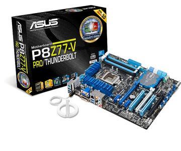 ASUS stellt erstes Intel® Thunderbolt(TM) zertifiziertes Mainboard vor