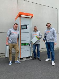 Swobbee Team v.l.n.r. Thomas Duscha, CEO, Tobias Breyer, COO, Ludwig Speidel, CFO / Copyright Swobbee GmbH