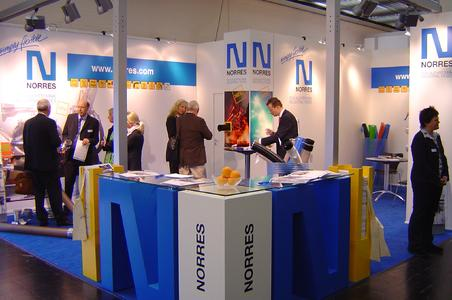 NORRES stand welcomes record number of visitors