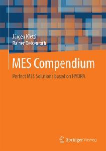 Englische Ausgabe des MES-Kompendium – erschienen im Springer Verlag