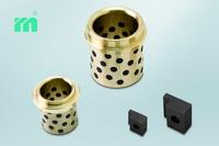 NEW at Meusburger - E 5130 Bronze sliding guide bush with solid lubricant