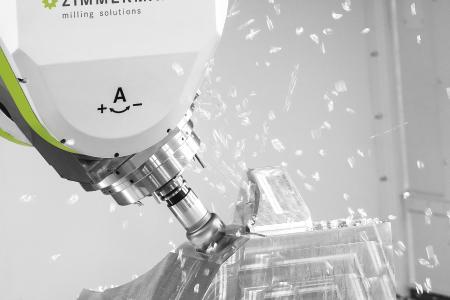 Mit der Zimmermann-Portalfräsmaschine FZ40 compact fertigt die Schorr GmbH aus Kunststoffen oder Metallen großformatige Bauteile für die Automobil- und Flugzeugindustrie
