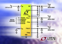 1A Step-Down DC/DC Converter Plus