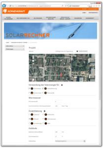 So sieht der Polysun-Solar-Rechner von Sonnenkraft aus