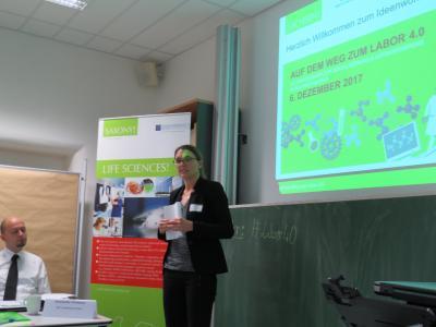 Eröffnung durch Maike Liebschner (Wirtschaftsförderung Sachsen GmbH), Foto: P3N MARKETING GMBH