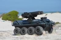 Rheinmetall Mission Master unmanned ground vehicle shows what it can do at Ammunition Capability Demonstration in South Africa