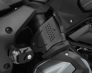 Wunderlich fuel injection system cover - left - on the BMW R 1250 R, black (Item-No.: 42940-612)