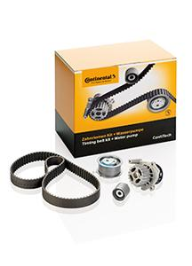 The ContiTech Power Transmission Group now offers 13 additional timing belt kits complete with water pumps (Photo: ContiTech)