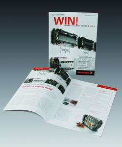 """Weidmüller's Customer magazine """"WIN!"""" – interesting and informative"""