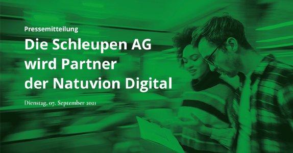 Die Schleupen AG wird Partner der Natuvion Digital