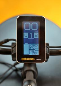 High-quality display board: the modularly designed Continental drive system is positioned in the premium segment