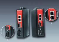 Weidmüller's serial/Ethernet converters equipped with one or two ports for industrial automation