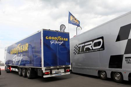 Goodyear Truck GP Reifenlieferant 2012