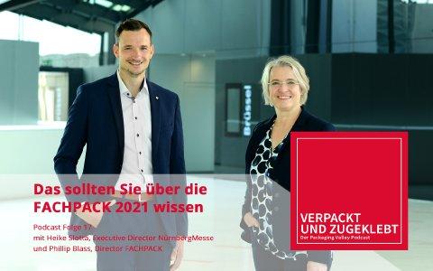 Neuer Packaging Valley Podcast: Das sollten Sie über die FACHPACK 2021 wissen