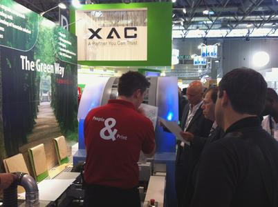 This year the topic of environmental protection combined with innovative security printing features was high up on KBA-MetroPrint's list