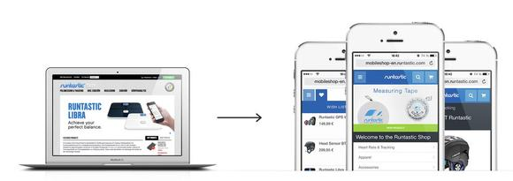 Web App von runtastic