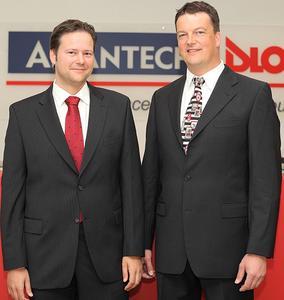 Bernd Grunwald und Ulrich Eiwan koordinieren ab sofort die Abteilung Produktentwicklung bei Advantech-DLoG