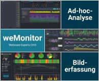 Ad-hoc-Analyse und Bilderfassung mit weMonitor