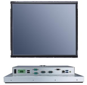 "AXIOMTEKs FDK172-834 17"" SXGA TFT Open Frame Panel Computer mit Quad Core Intel® Celeron® Prozessor"
