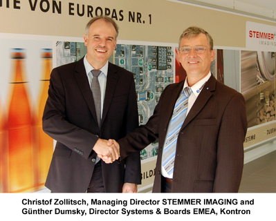 Kontron and Stemmer Imaging close cooperation contract